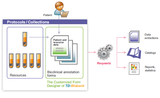 Add value to collections with TDBioBank bioclinical annotation forms